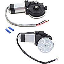 Window Motor, New Front, Driver and Passenger Side