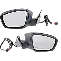 Mirror - Driver and Passenger Side (Pair), Power, Heated, Paintable, With Turn Signal, Memory