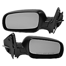 Mirror - Driver and Passenger Side (Pair), Manual Remote, Paintable, 4th Generation