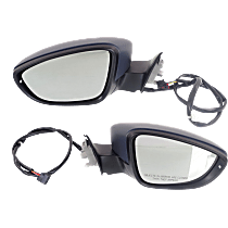 Mirror - Driver and Passenger Side (Pair), Power, Heated, Paintable, With Turn Signal, Models Built Up To April 2, 2012
