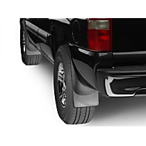 Front and Rear, Driver and Passenger Side Mud Flaps, Set of 2