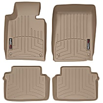 SET-W24451061 Tan Floor Mats, Front and Second Row