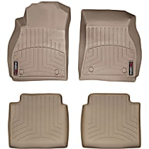 SET-W24455901 Tan Floor Mats, Front and Second Row