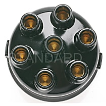 AL-132 Distributor Cap - Black, Direct Fit, Sold individually