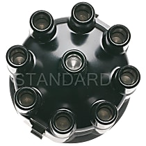 Standard AL-140 Distributor Cap - Black, Direct Fit, Sold individually