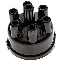 Standard AL-141 Distributor Cap - Black, Direct Fit, Sold individually