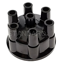 Standard AL-146 Distributor Cap - Black, Direct Fit, Sold individually