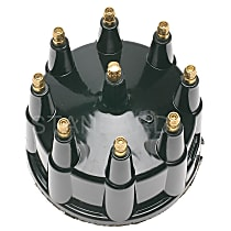 AL-482 Distributor Cap - Black, Direct Fit, Sold individually