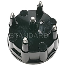 AL-490 Distributor Cap - Black, Direct Fit, Sold individually