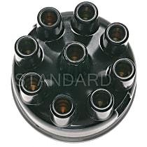 Standard AL-493 Distributor Cap - Black, Direct Fit, Sold individually
