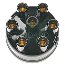 Standard AL-96 Distributor Cap - Black, Direct Fit, Sold individually