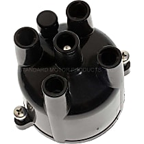 Standard CH405T Distributor Cap - Black, Direct Fit, Sold individually