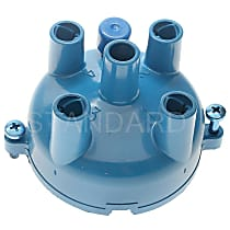 Standard CH-408 Distributor Cap - Blue, Direct Fit, Sold individually