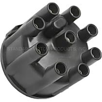 CH409T Distributor Cap - Black, Direct Fit, Sold individually