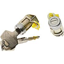 Standard DL-106 Door Lock - Chrome, Direct Fit, Kit