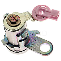 Standard DL-107 Door Lock Cylinder - Chrome, Direct Fit, Sold individually