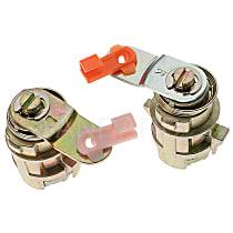 Door Lock - Chrome, Direct Fit, Set of 2
