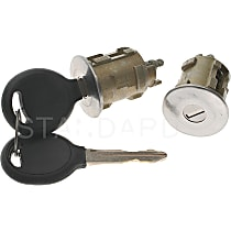 Standard DL-127 Door Lock - Chrome, Direct Fit, Sold individually