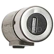 Standard DL-19B Door Lock - Black and chrome, Direct Fit, Sold individually