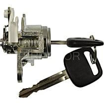 Door Lock - Chrome, Direct Fit, Kit