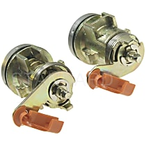 DL-41 Door Lock - Chrome, Direct Fit, Sold individually