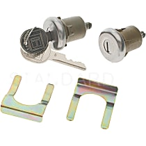 DL-6 Door Lock - Chrome, Direct Fit, Sold individually