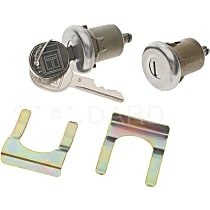 Standard DL-6 Door Lock - Chrome, Direct Fit, Sold individually
