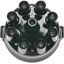 DR-196 Distributor Cap - Black, Direct Fit, Sold individually
