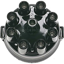 Standard DR-196 Distributor Cap - Black, Direct Fit, Sold individually