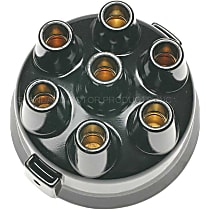 DR-413 Distributor Cap - Black, Direct Fit, Sold individually