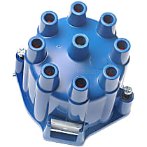 DR-429 Distributor Cap - Blue, Direct Fit, Sold individually