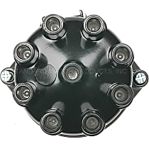 DR429T Distributor Cap - Black, Direct Fit, Sold individually
