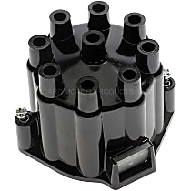 DR-432 Distributor Cap - Black, Direct Fit, Sold individually