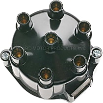 DR-435 Distributor Cap - Black, Direct Fit, Sold individually
