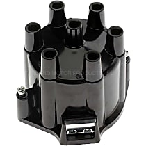 Standard DR-439 Distributor Cap - Black, Direct Fit, Sold individually