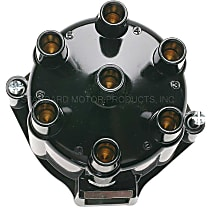 Standard DR-442 Distributor Cap - Black, Direct Fit, Sold individually
