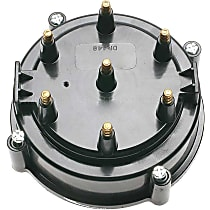 DR-446 Distributor Cap - Black, Direct Fit, Sold individually
