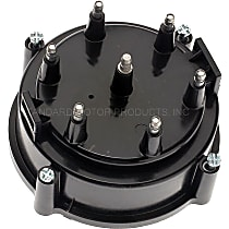 DR446T Distributor Cap - Black, Direct Fit, Sold individually
