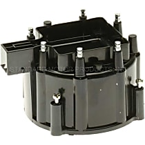 DR-447 Distributor Cap - Black, Direct Fit, Sold individually
