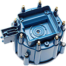 DR-450 Distributor Cap - Blue, Direct Fit, Sold individually