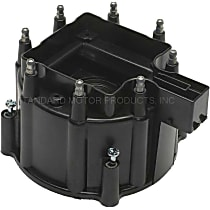 DR450T Distributor Cap - Black, Direct Fit, Sold individually