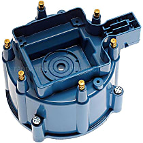 DR-452 Distributor Cap - Blue, Direct Fit, Sold individually