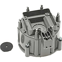 DR452T Distributor Cap - Gray, Direct Fit, Sold individually