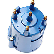 DR-455 Distributor Cap - Blue, Direct Fit, Sold individually