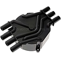 DR475T Distributor Cap - Black, Direct Fit, Sold individually