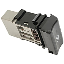 Standard DS-1542 Defroster Switch - Direct Fit, Sold individually