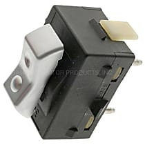 Standard DS-1670 Door Lock Switch - Silver, Plastic, Direct Fit, Sold individually