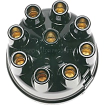 FD-125 Distributor Cap - Black, Direct Fit, Sold individually