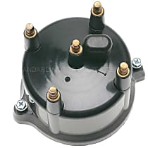 FD-174 Distributor Cap - Black, Direct Fit, Sold individually