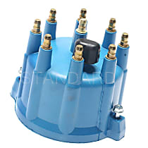 FD-175 Distributor Cap - Black, Direct Fit, Sold individually